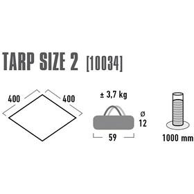 High Peak Tarp 2 Grey